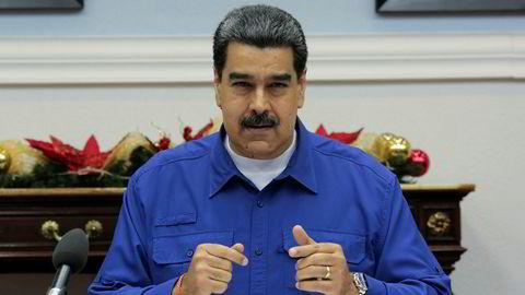 Venezuelas Nicolás Maduro er en av presidentene i Latin-Amerika som kaller avgangen til Evo Morales for statskupp i Bolivia.