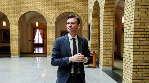 Finanskomiteens leder Henrik Asheim (H) er blitt enige med de andre regjeringspartiene om detaljene i neste års statsbudsjett. Foto: Vidar Ruud / NTB scanpix