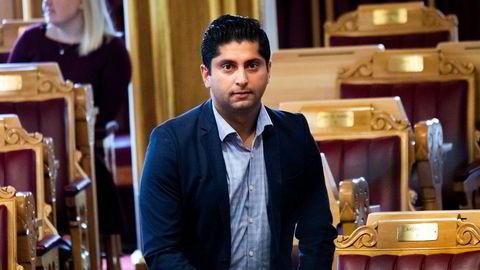 Stortingsrepresentant Himanshu Gulati står oppført med null i inntekt for 2018.