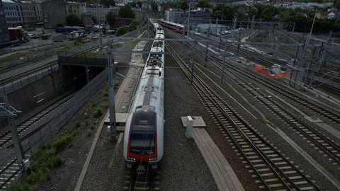 Oslo-Stavanger med ny togoperatør? Regjeringen tar skrittet videre. Foto: Gunnar Blöndal