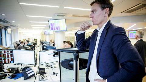 Aksjesjef Gaute Eie i ABG Sundal Collier frykter for bankene hvis koronakrisen varer lenge.