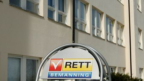 Et av selskapene som opererer under merkevaren Rett Bemanning har meldt oppbud tirsdag. Rundt 150 personer mister jobben som følge av konkursen i selskapet Rett Bemanning as.