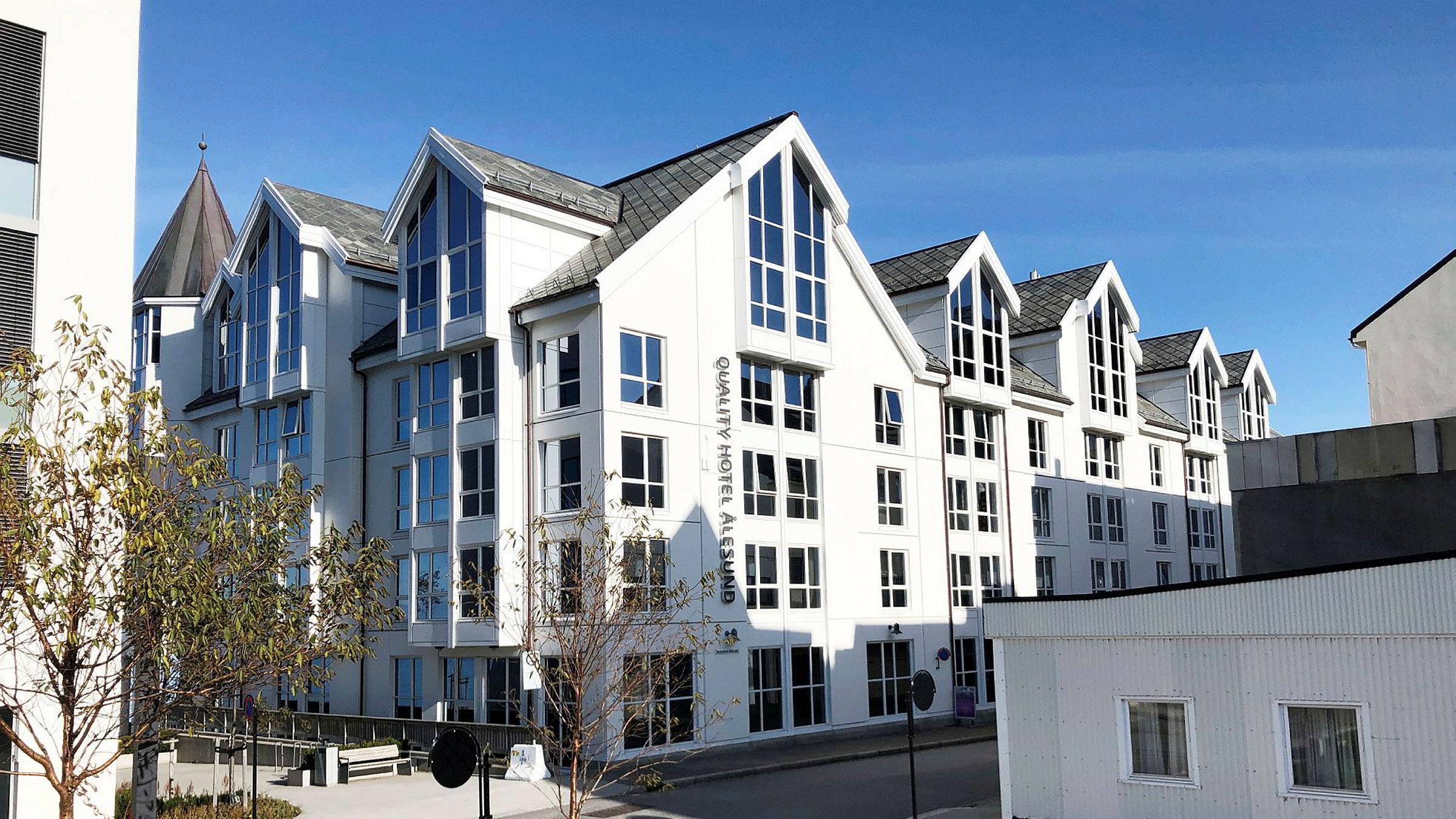 Et dobbeltrom på Quality Hotel Ålesund innfrir det meste for et opphold på gjennomreise, selv om standarden er helt på det jevne.