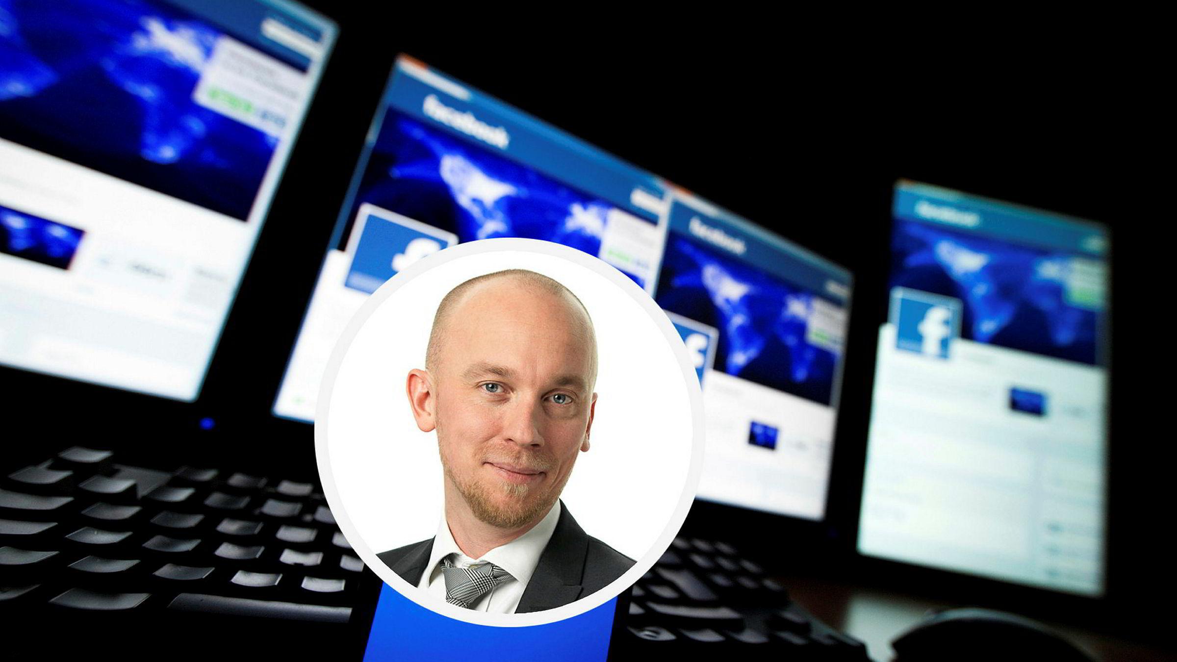 Janne Elvelid er public policy manager i Facebook Norgen. Denne uken må han vitne i Oslo tingrett.