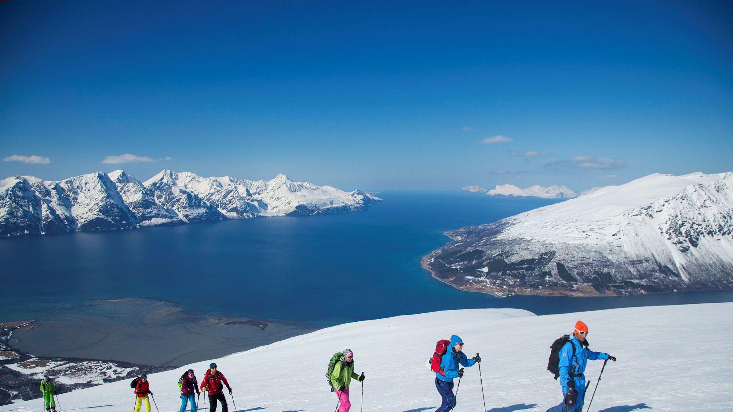 Her fra Storhaugen i Kåfjord i Troms i fjor.