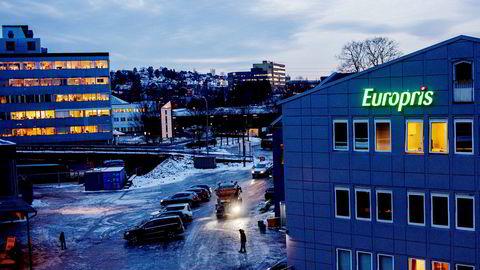 Europris på Bryn i Oslo.