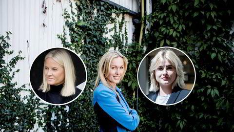 Innovasjon Norge-sjef Anita Krohn Traaseth og Ferd-arving Katharina Andresen møtte hverandre på et arrangement i regi av HKH Mette-Marit i april.