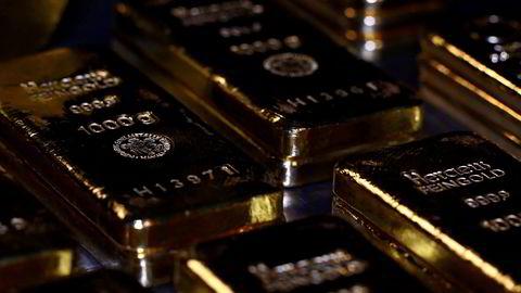 Danske Bank markedsførte gullbarrer som et tilbud til velstående russere i 2012, ifølge Bloomberg.