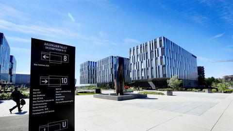 Akers hovedkvarter på Fornebu.
