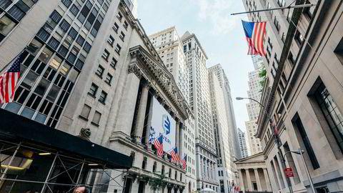 New York Børsen på Wall Street har steget kraftig de siste to ukene.