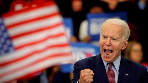 Joe Biden forteller at anklagene mot ham er basert på løgn.