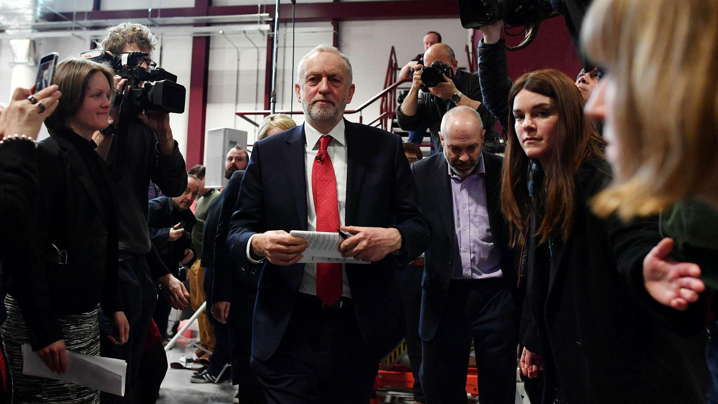 Labour-leder Jeremy Corbyn vil ha en ny tollunion med EU, men det er uklart hva han egentlig mener med det.