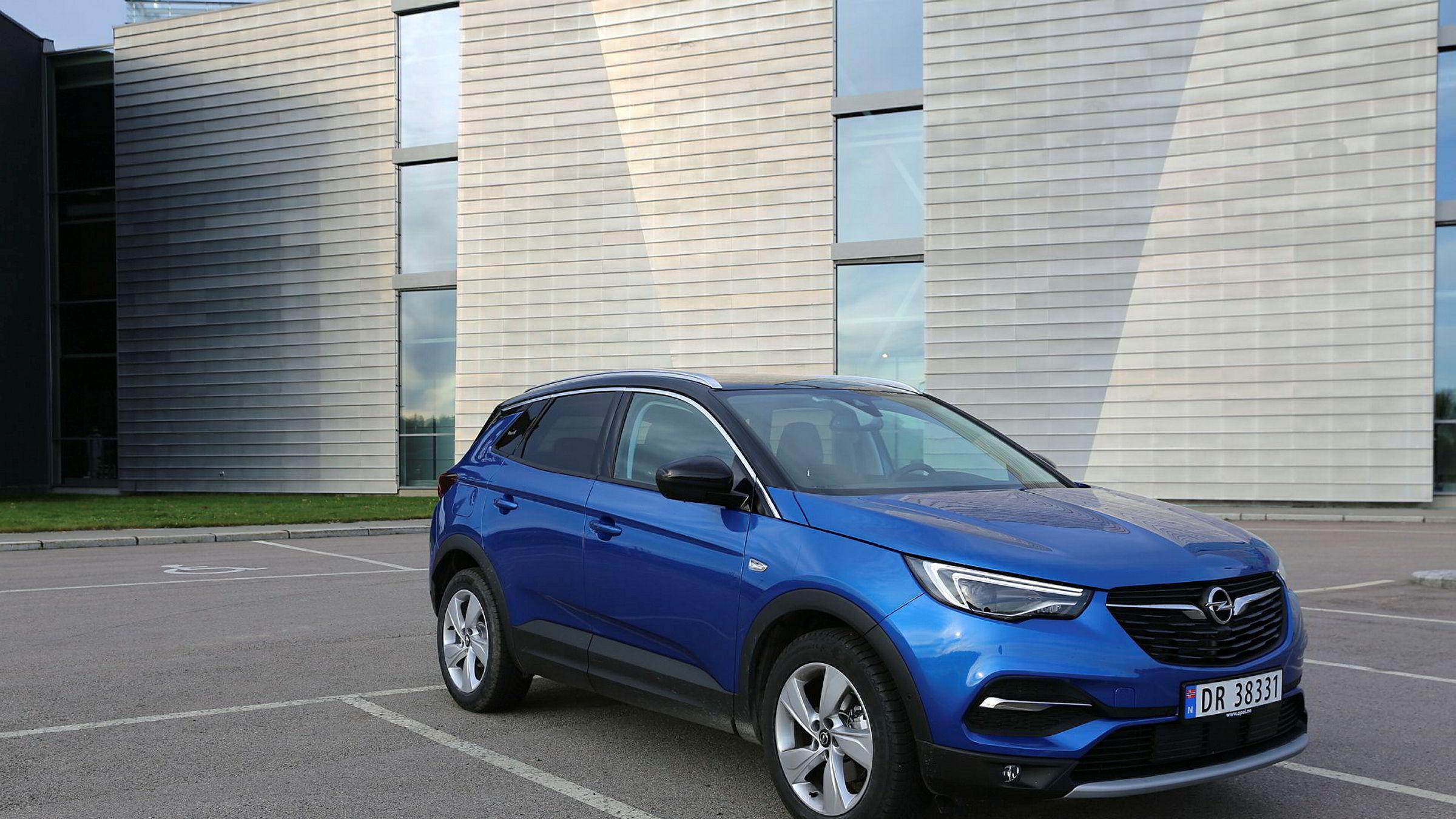 Opel Grandland har luket vekk det franske preget, og oppfattes som en genuint tysk bil.