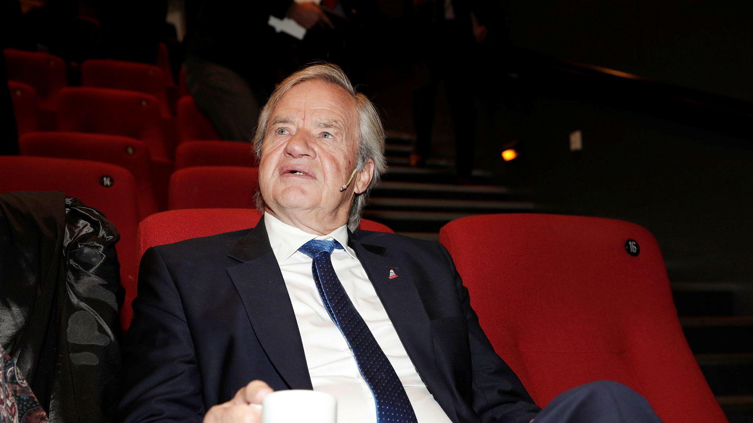 Bjørn Kjos presenterte kvartalstallene for Norwegian torsdag morgen.