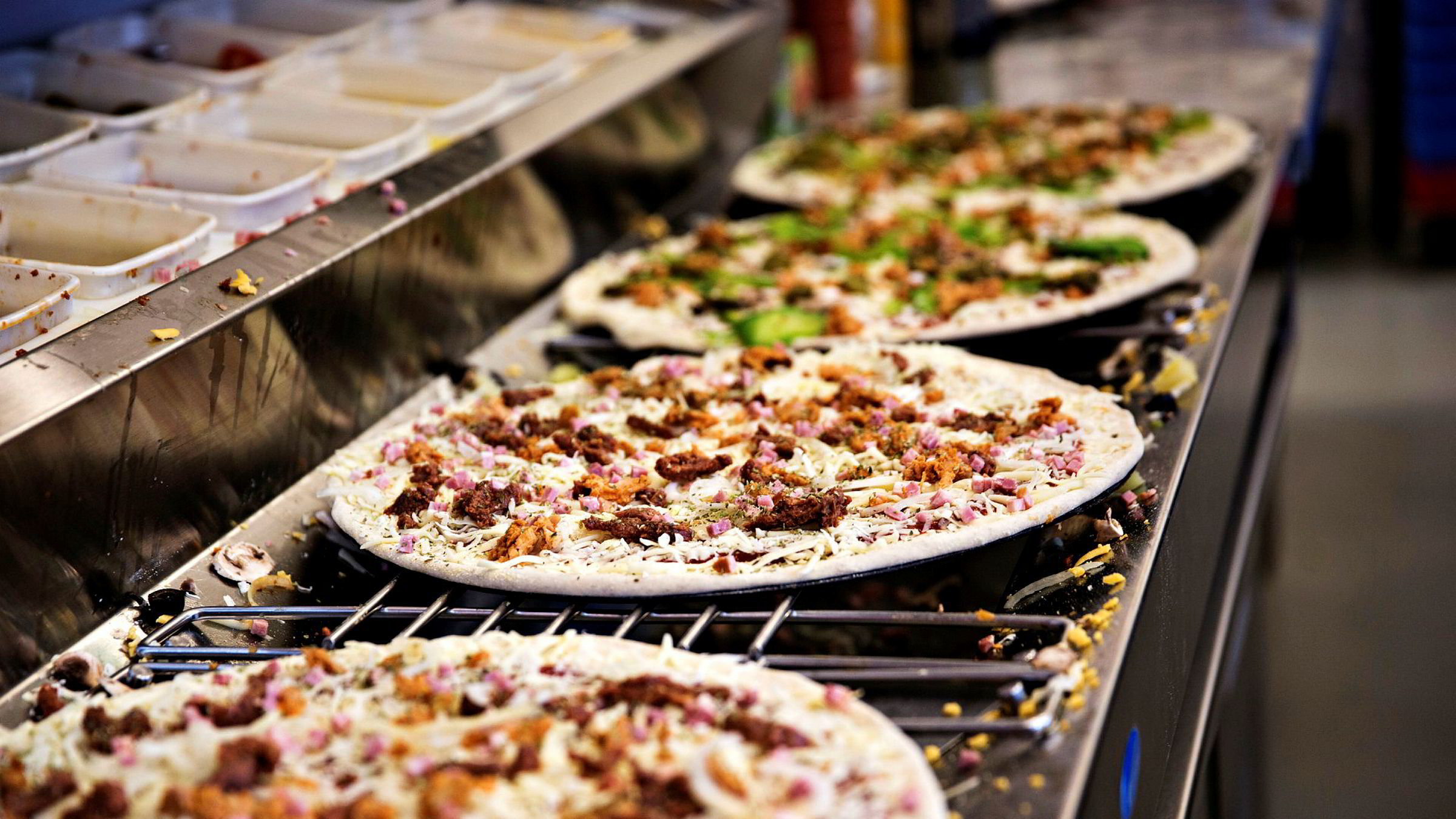 – Domino's i Norge fortsetter. Våre ambisjoner er uforandret, vi vil bli nummer én på pizza i Norge, sier Birgir Bieltvedt.