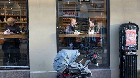Ekteparet Stig-Øyvind og Vibeke Blystad har forberedt seg på at renten kan komme til å stige i 2018.