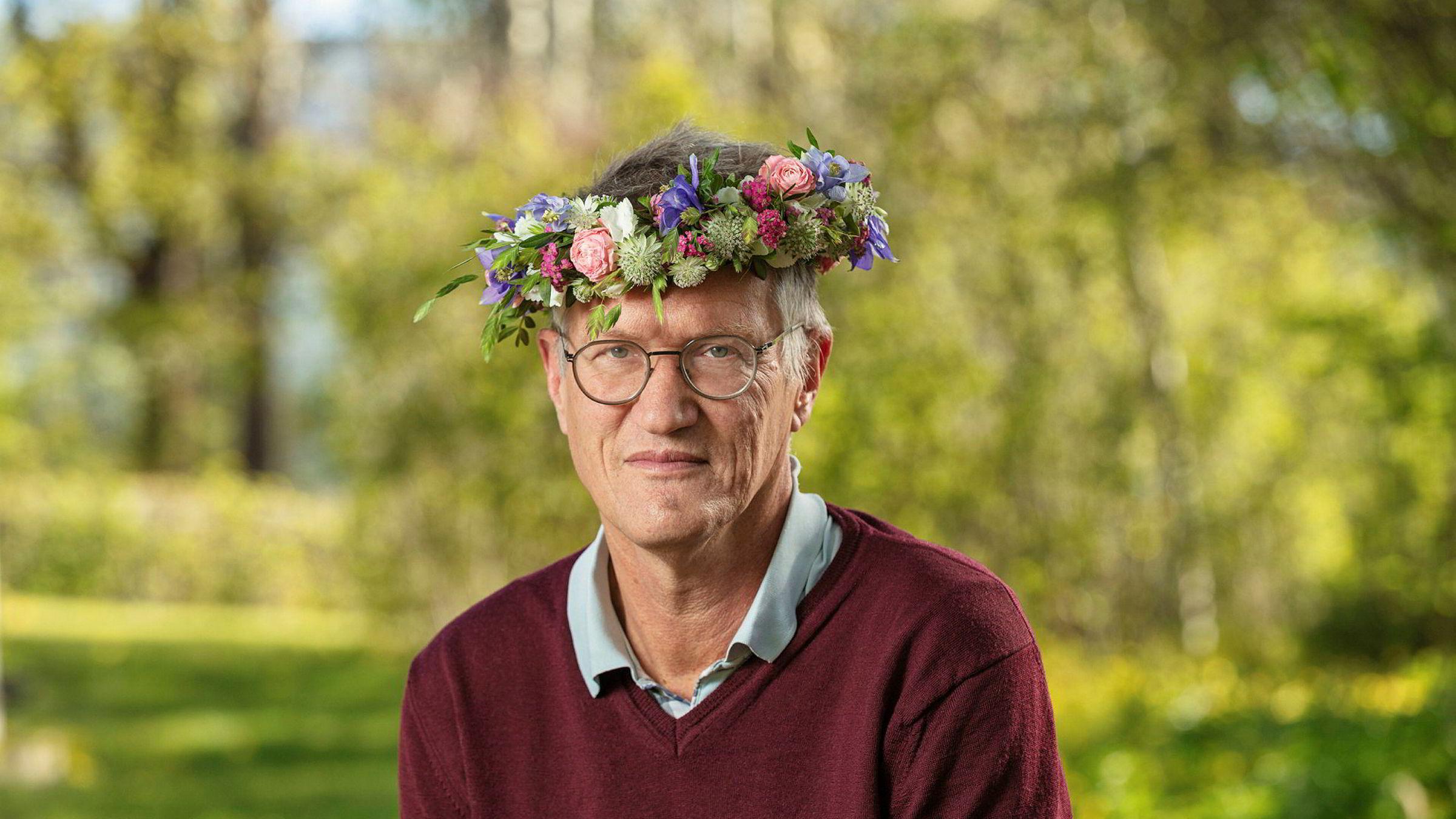 På radioprogrammet «Sommar i P1» nylig, gjentok statsepidemiolog Anders Tegnell at de høye dødstallene i Sverige primært skyldes svikt i eldreomsorgen.