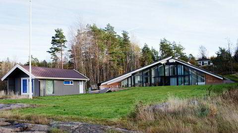 Tjøme kommune fant en rekke ulovlige forhold da de i forrige uke inspiserte fritidseiendommen til skipsmegler Fridtjof B. Falck. Det er arkitekt Rune Breili som har hatt ansvar for prosjektet.