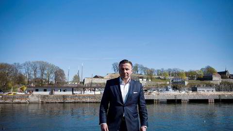 Det siste halvåret har norske Robin Kamark sittet i toppledelsen av Etihad Airways med ansvar for oppkjøp internasjonalt. Han utelukker et bud på Norwegian. Her fra da DN møtte ham i Oslo i fjor.