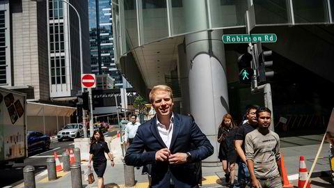 Magnus Grimeland er konsernsjef i investeringsselskapet Antler, som investerer i oppstartsselskaper.
