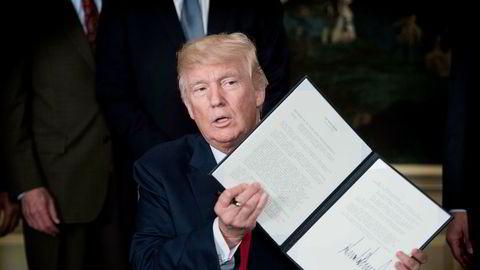 USAs president Donald Trump har gitt den amerikanske handelsrepresentanten Robert Lighthizer i oppdrag å foreta en full granskning av Kinas handelspraksis, og fullmakt til å vurdere om USA skal bruke en gammel handelslov for å straffe Kina.