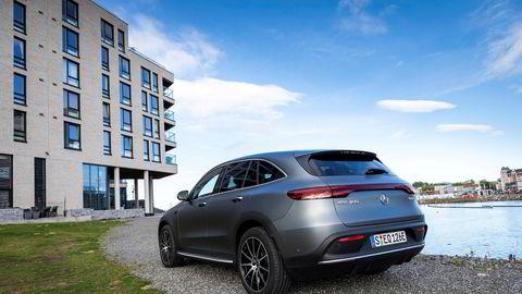 Mercedes-Benz EQC er den første modellen i det tyske merkets satsing på elektriske biler.