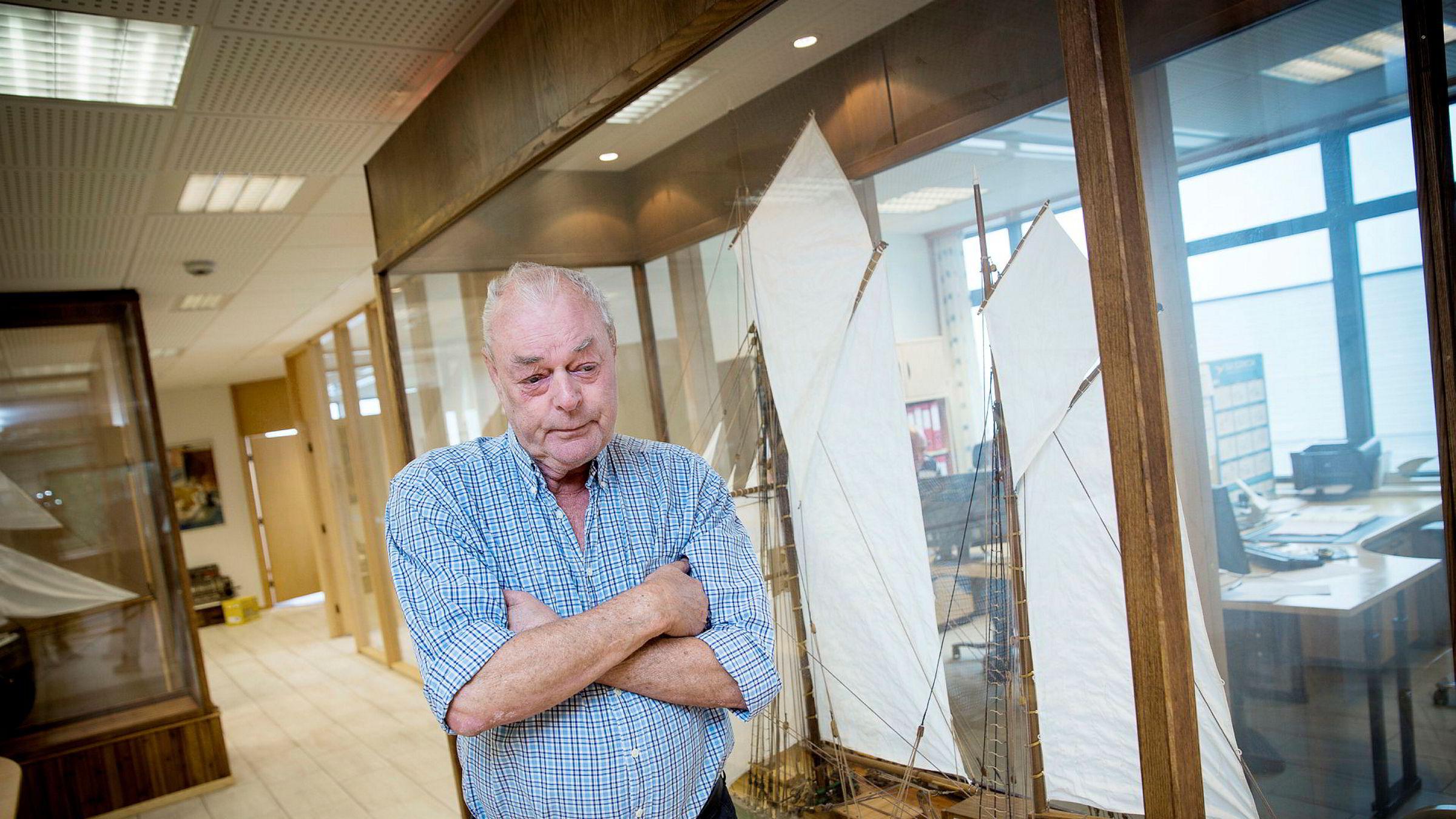 Det er fortsatt gründeren Anders Pedersen (74) som styrer milliardkonsernet han bygget opp fra grunnen.