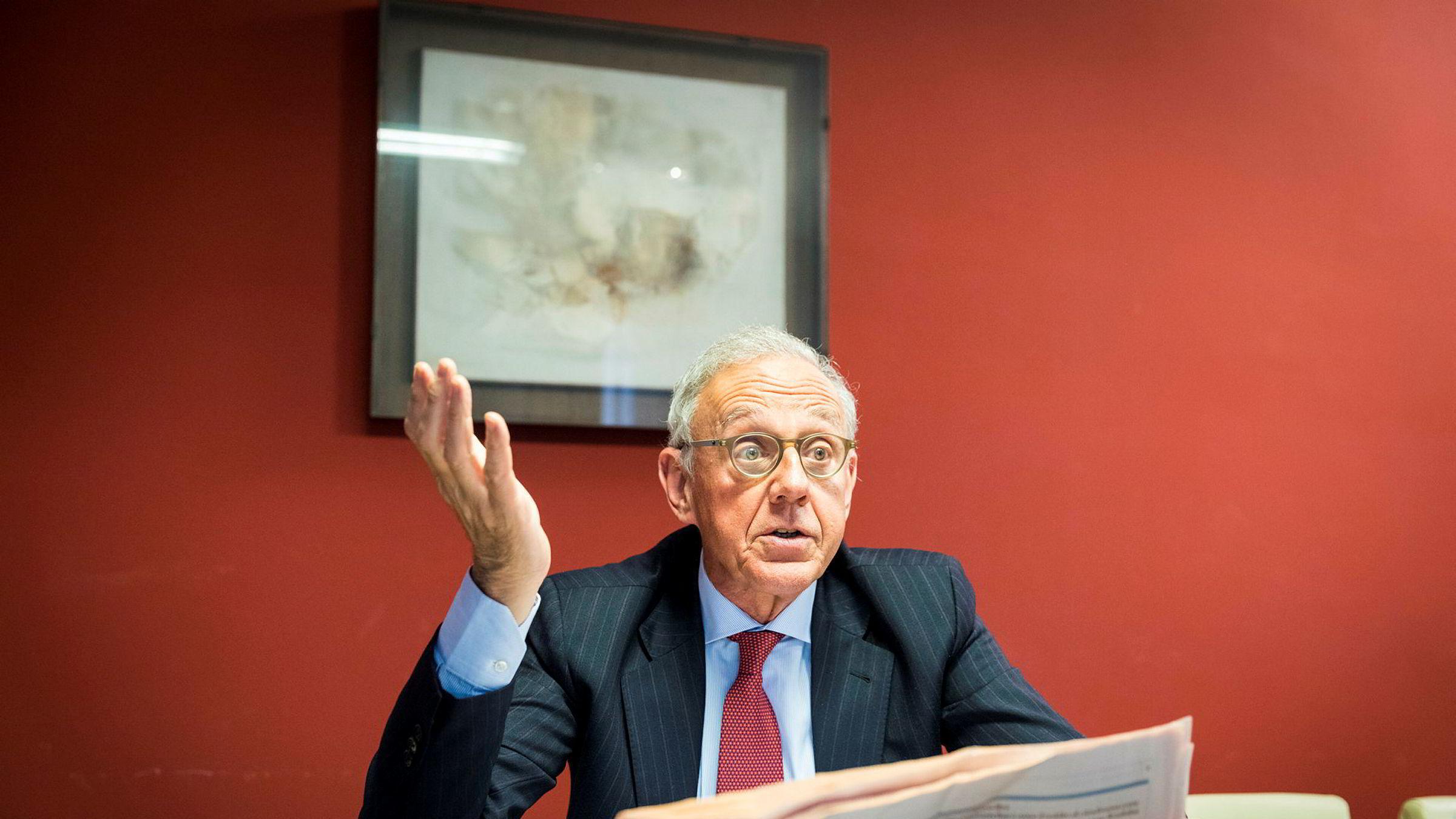 Finansmannen Attilio Arietti i Milano lar seg ikke skremme av populismens fremmarsj i Itaila. – Vi er vant til dette, sier han om den ekstremt usikre situasjonen.