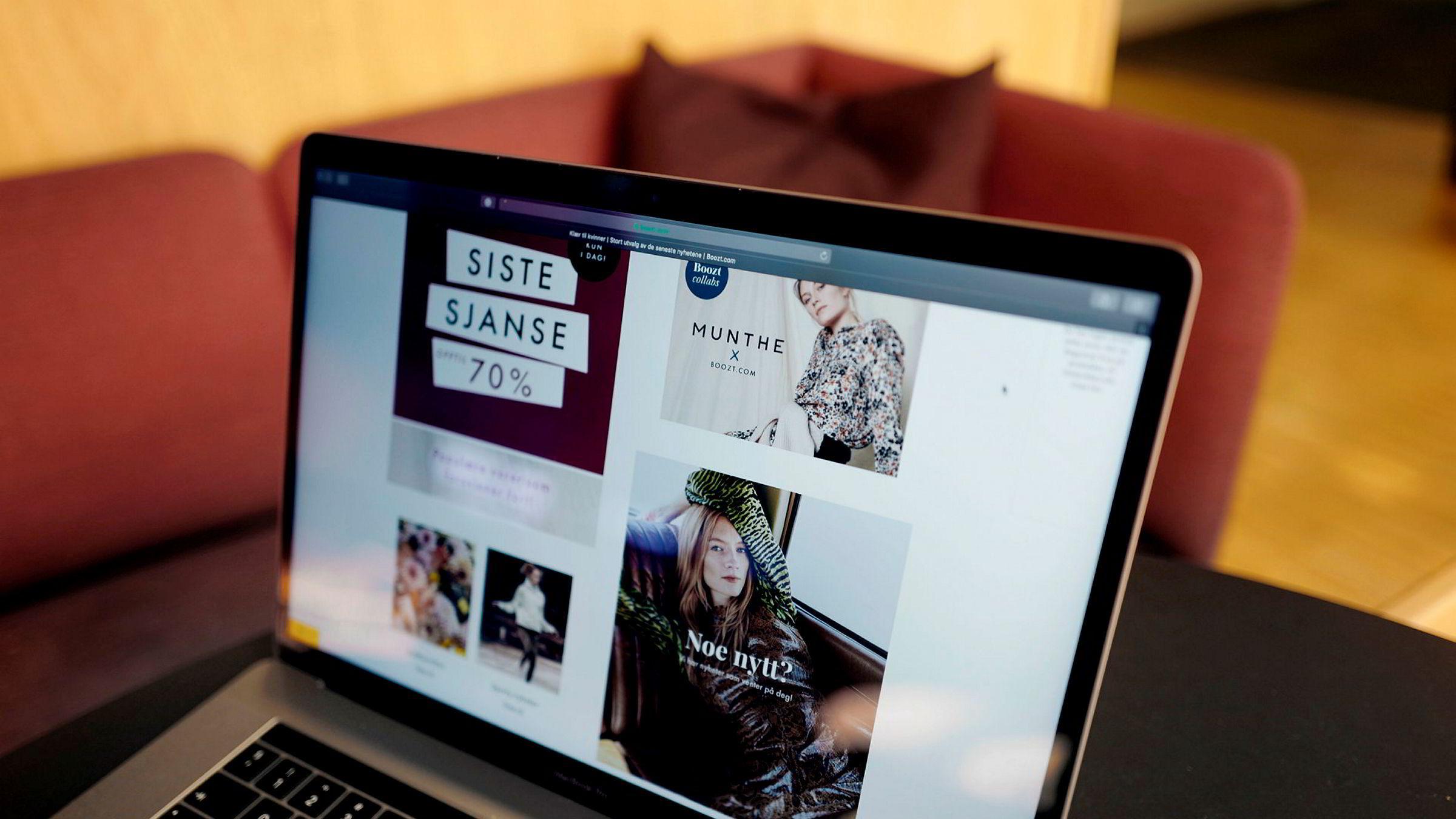 Nettbutikken Boozt vil sette kunder som returnerer for mange varer på «handlepause».