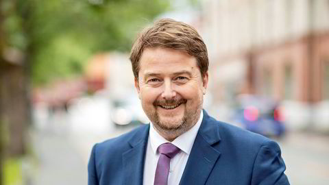 Arne W. Eidshagen er ansvarlig for Forte Kreditt. Han forklarer at fondet har brent seg på riggmarkedet.