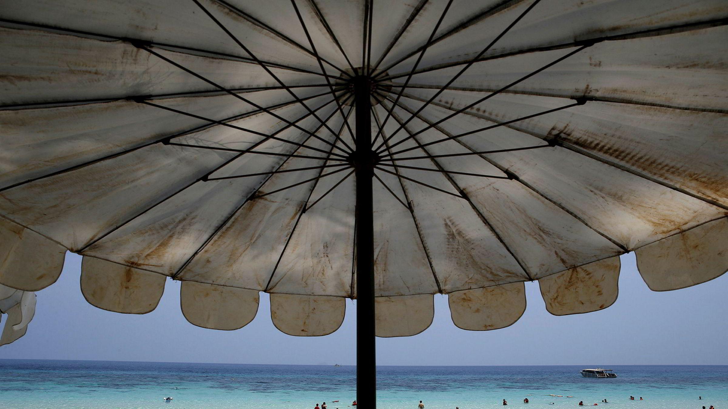 Over 35 millioner besøkte Thailand i år, ifølge anslag. Bildet er tatt på Maiton Island i Phuket.