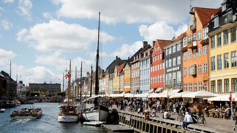Danmarks hovedstad København er et populært feriemål for norske turister.
