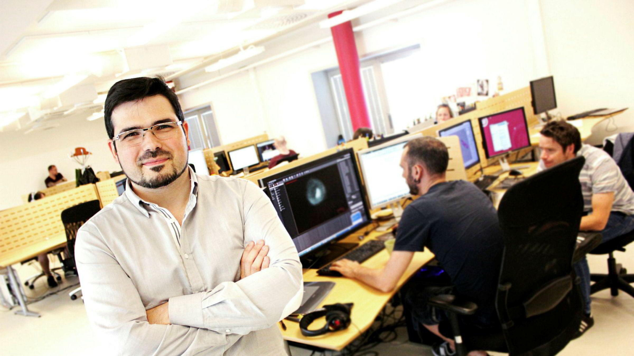Rui Casais, konsernsjef i Funcom.