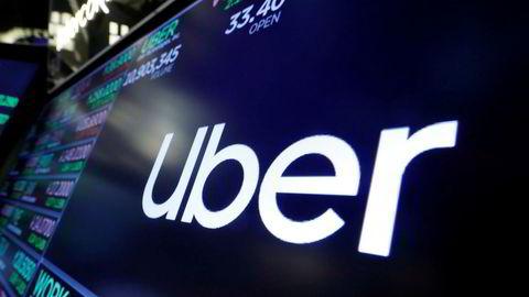 Uber-aksjen raste tirsdag.