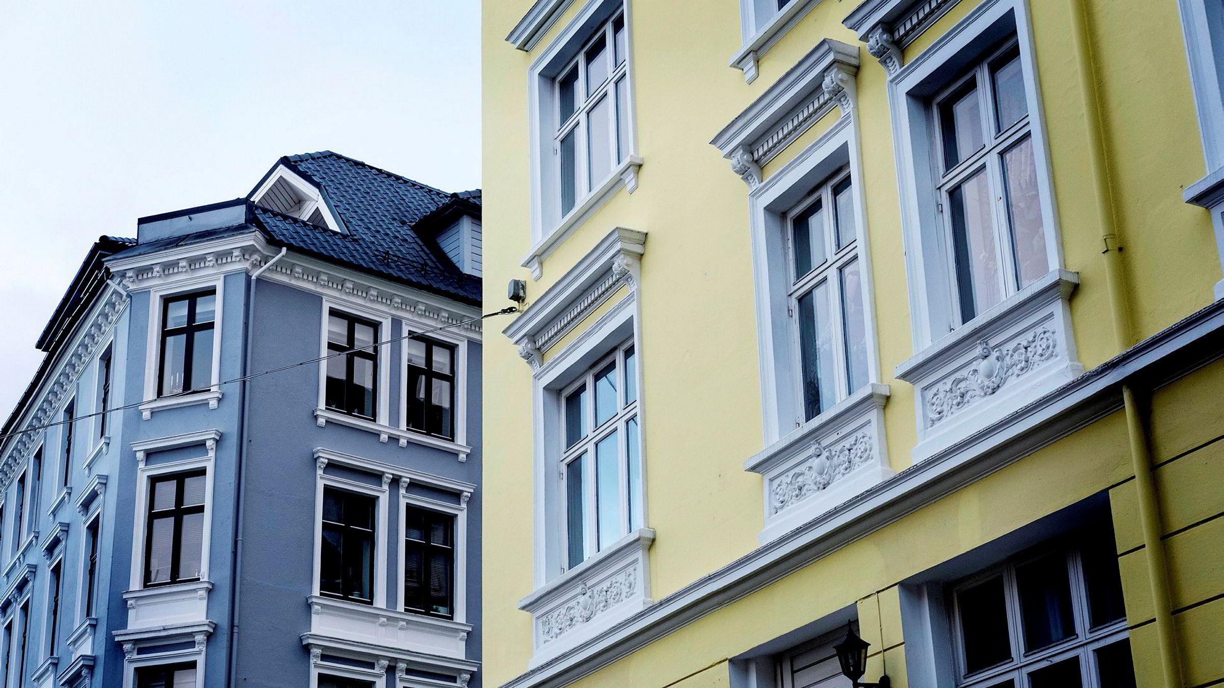 Boligprisene i Bergen steg 3,9 prosent i januar.