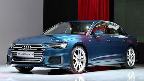Den tyske bilprodusenten Audi stopper leveransene av modellene A6 og A7.