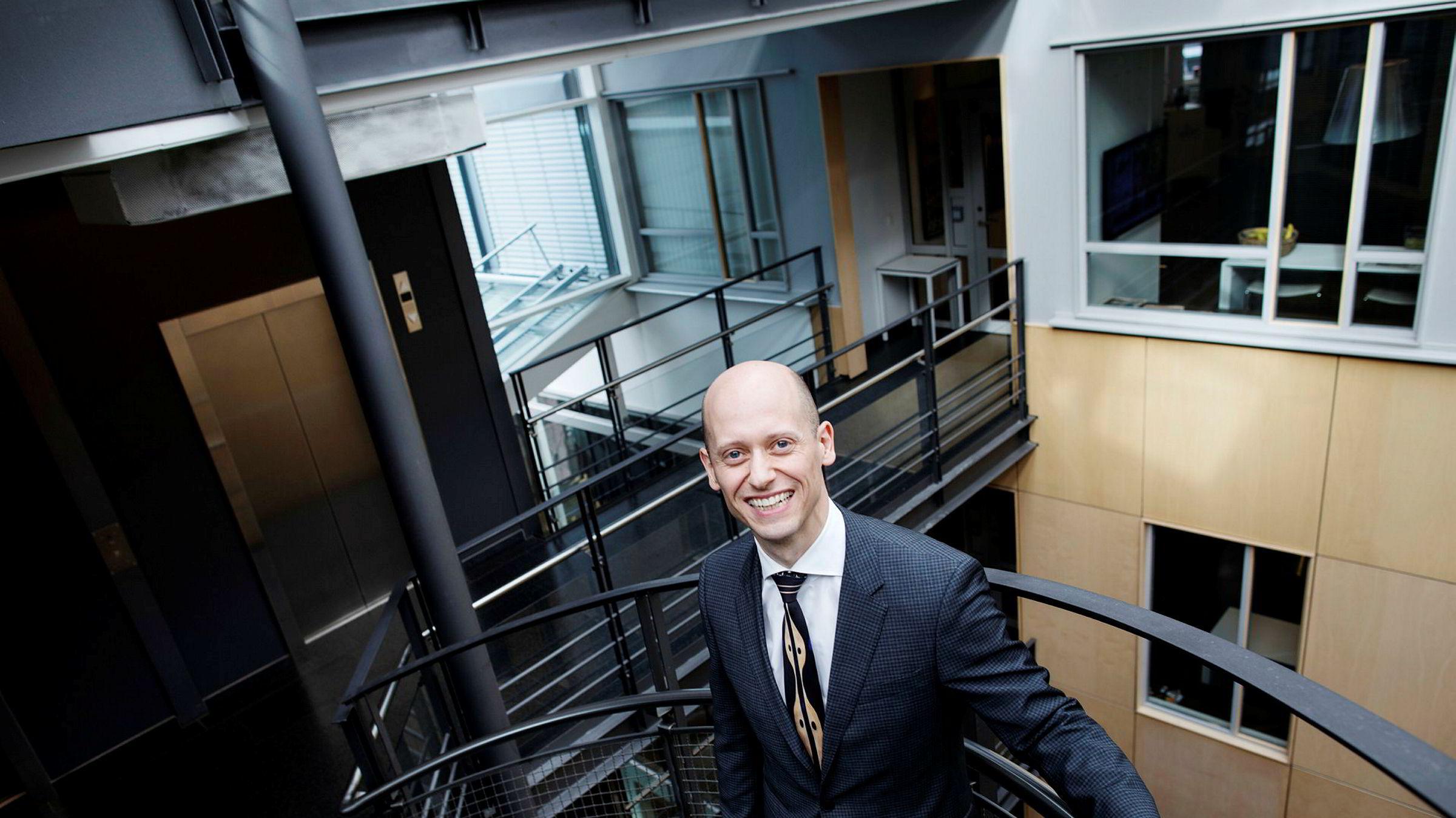 Øystein Børsum, sjeføkonom i Swedbank i Norge.