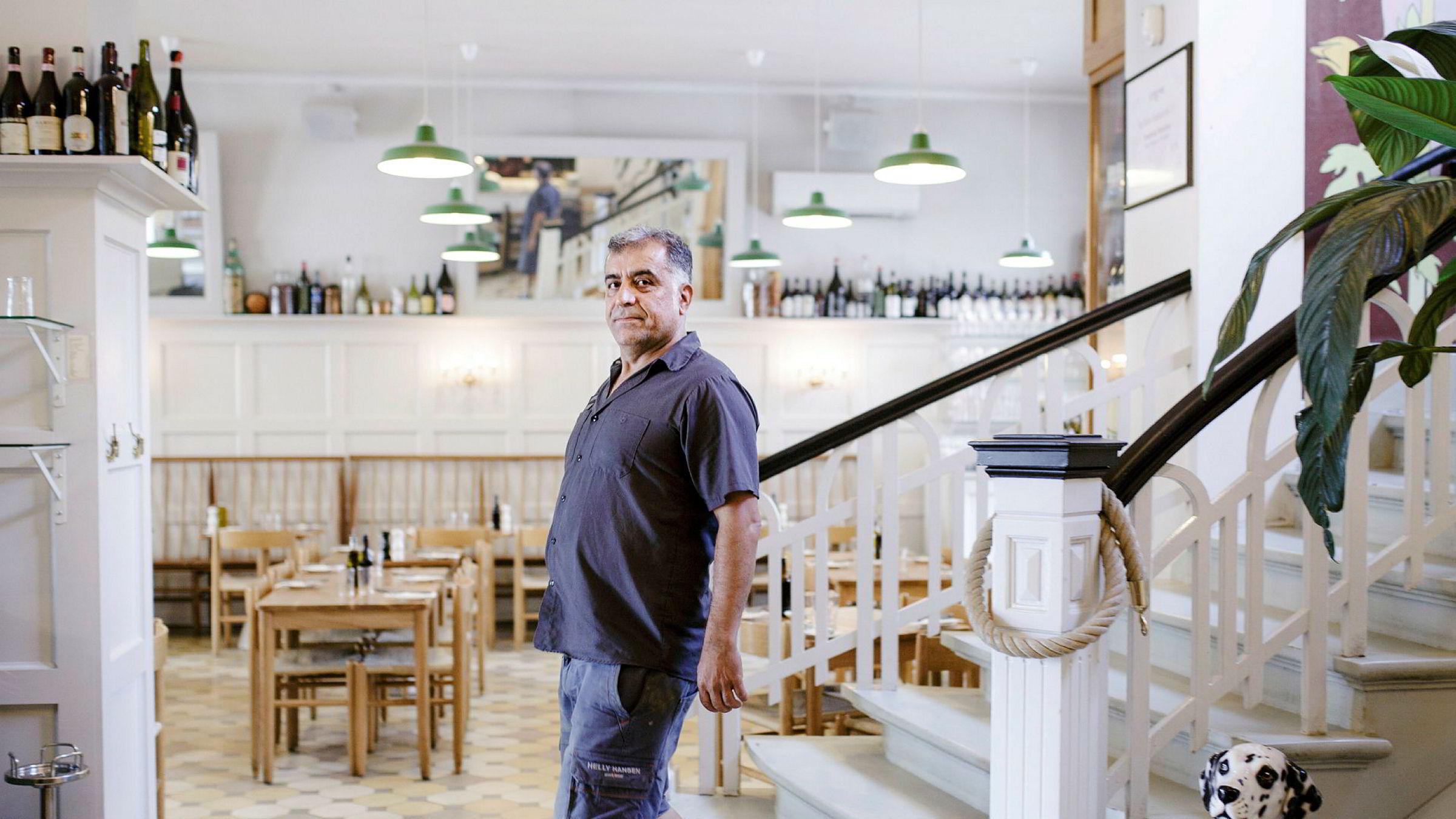 Restaurantgründer Nevzat Arika mener restaurantmarkedet i Oslo er overetablert og venter på å gjøre nyinvesteringer til det roer seg.