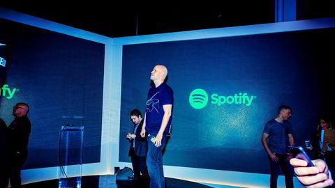 Daniel Ek, CEO grunnlegger av Spotify. Selskapet endte andre kvartal med underskudd.