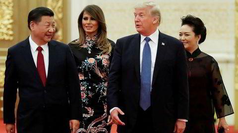 President Donald Trump er utålmodig og ønsker å straffe Kina og kinesiske selskaper med store bøter. Han er heller ikke fornøyd med innsatsen til sin egen handelsminister.