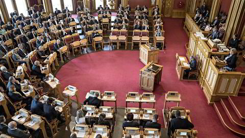 Stortinget stemte for å slutte seg til EUs energibyrå Acer.