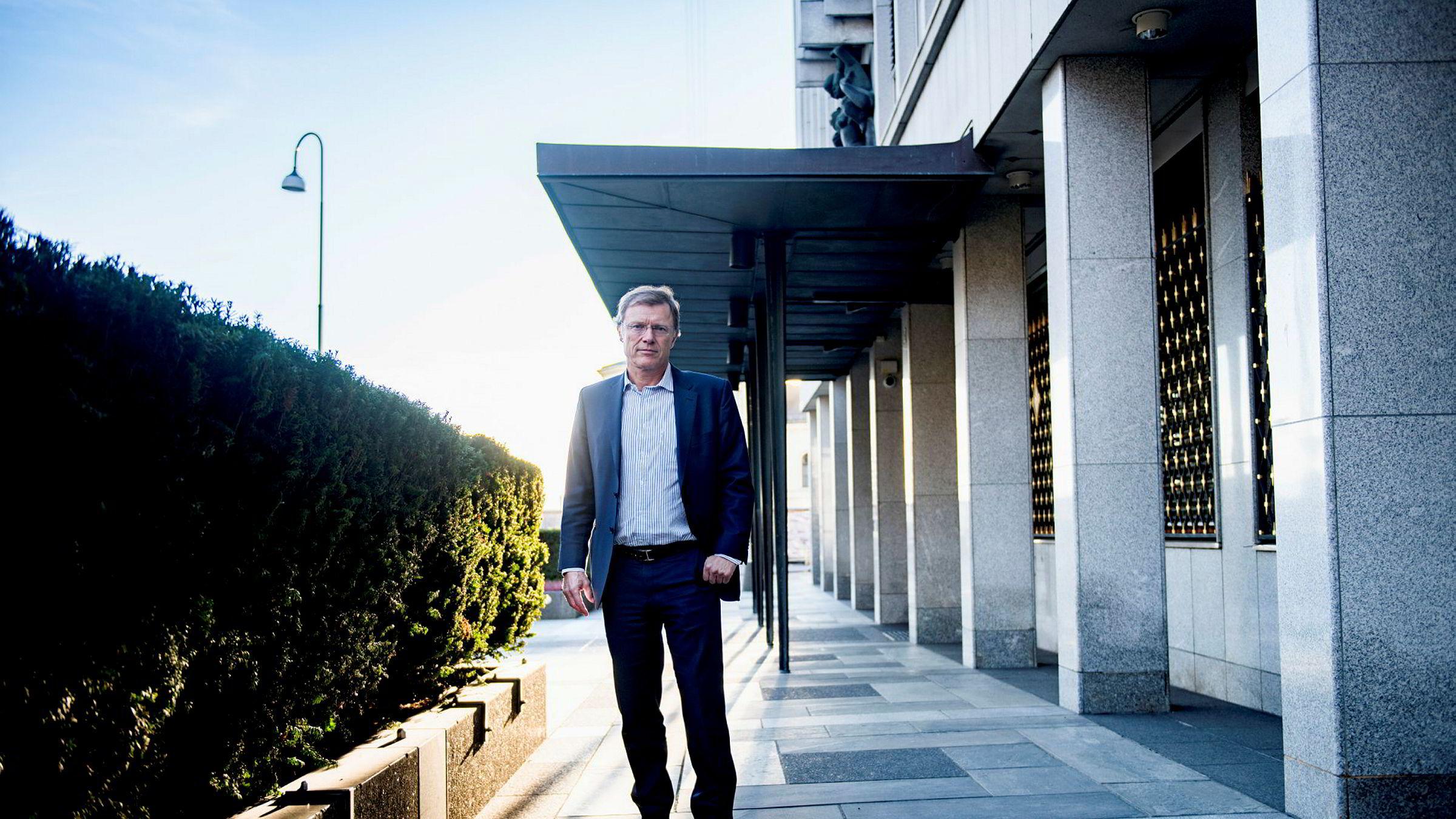 Sjefstrateg Peter Hermanrud i Sparebank 1 Markets tror det er 30 prosent sannsynlighet for et langvarig fall i boligprismarkededet.