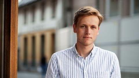 Unge venstre-leder Sondre Hansmark vil ha endringer i skattesystemet.