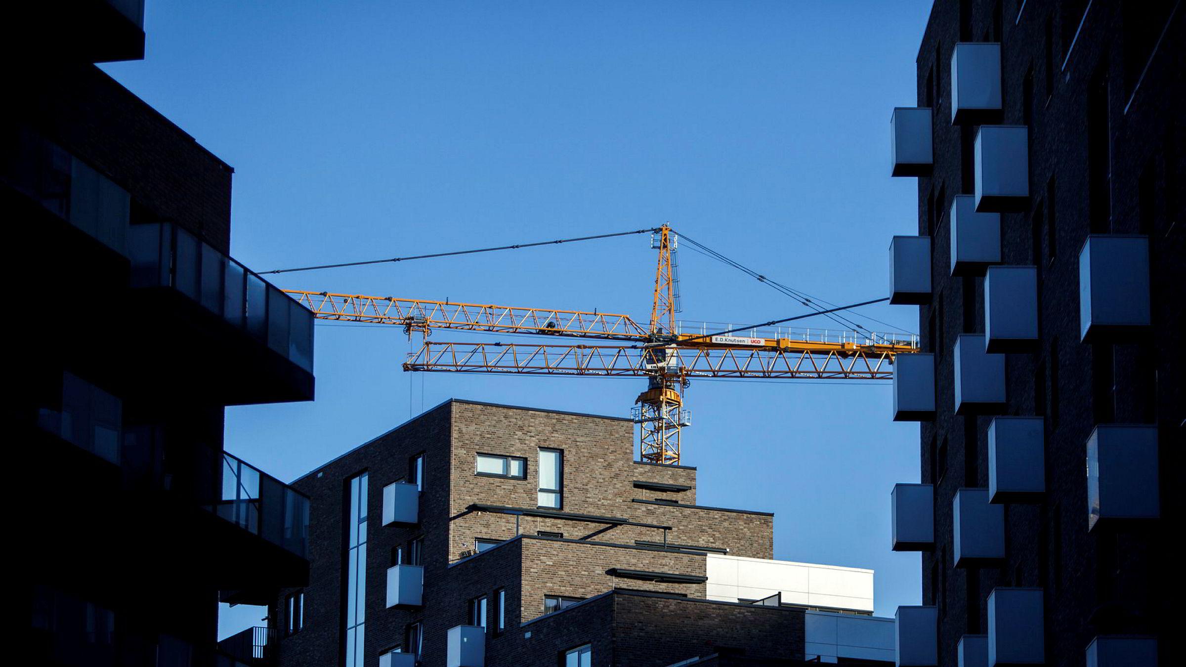 Nye leiligheter i Kværnerbyen i Oslo.