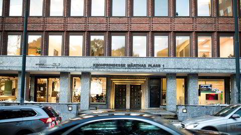 Her inne i bygningen på Kronprinsesse Märthas plass 1 i Oslo forvalter Lars Eyolf Kvamsø og Øivind Ofstad flere titall millioner kroner for profesjonelle investorer gjennom selskapet Conscendo Asset Management.