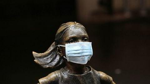 Koronaviruset fortsetter å prege de tre toneangivende amerikanske hovedindeksene