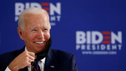 Joe Biden er demokratenes kandidat i presidentvalget høsten 2020.
