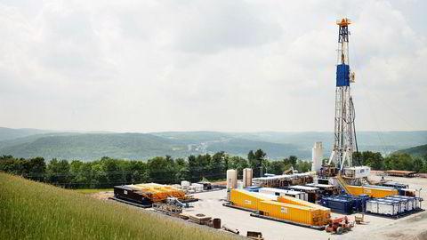 Fra Marcellus-anlegget i USA, der Chesapeake er operatør i lisensene som selskapet har sammen med Equinor.