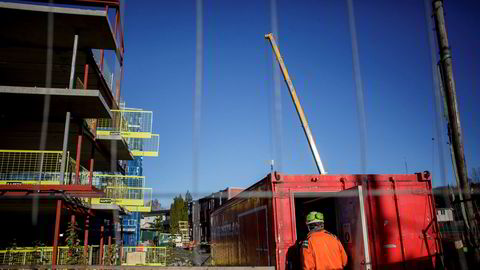 Boligprodusentenes Forening presenterte mandag tall for salg og igangsetting av nye boliger i september.