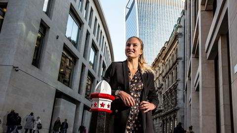 Alexandra Haudemann-Andersen jobbet i meglerhuset til svenske SEB i Singapore og Hongkong. I år meldte hun overgang til oppstartsfondet Antler, og har vært på opplæring i finansdistriktet City of London i høst. Like over nyttår starter Antler et gründerprogram i Oslo for første gang.